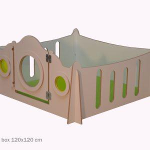 Budget grondbox 150x150 cm
