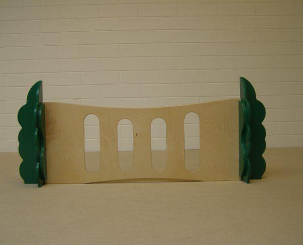 Box paneel met sleuven 120cm