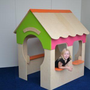 Speelhuis zonder trap