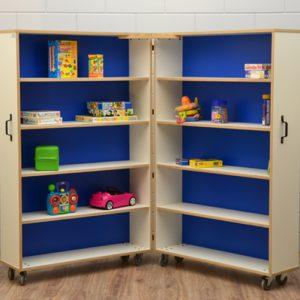 Vouwkast boeken, materialen etc.
