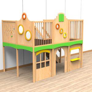 Oldschool speelwerkverdieping trap rechtsachter 02