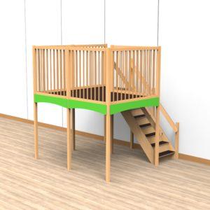 Oldschool speelwerkverdieping trap rechtsachter 03