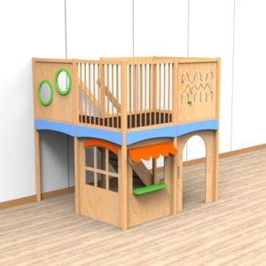 Oldschool speelwerkverdieping trap rechtsachter 04