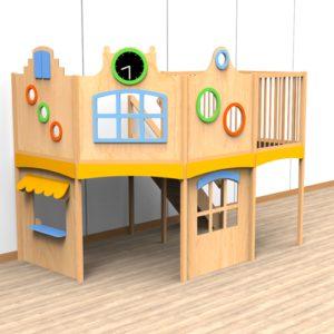 Oldschool speelwerkverdieping trap rechtsachter 06