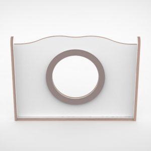 wave paneel 85cm grote ring