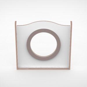 Wave paneel 65cm grote ring