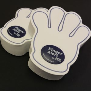 Finger Alert Door Blocker