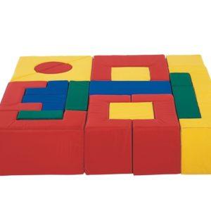 Grote blokkenset 21 delig