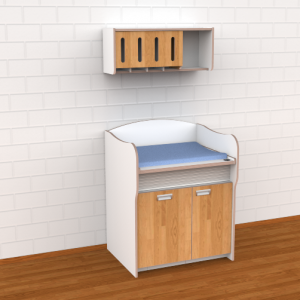 Dispenser model 1, voor commode 100