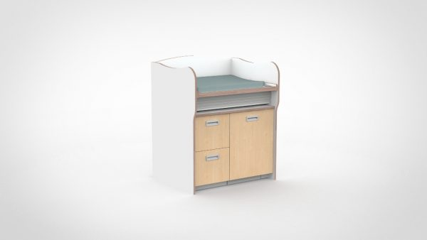 Commode 100 cm 2 lades