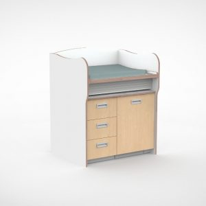 Commode 100 cm 3 lades